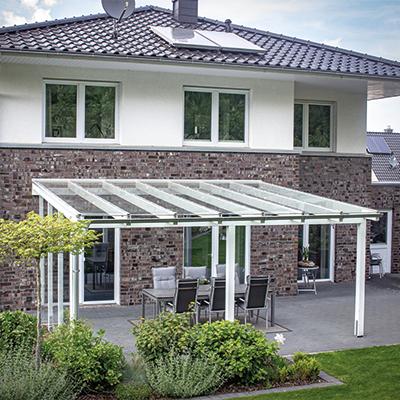 Terassenüberdachungen aus Glas